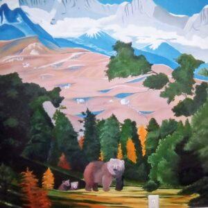 Muurschilderingen Tienerkamer