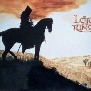 Muurschilderingen lord of the rings voor in de kinderkamer